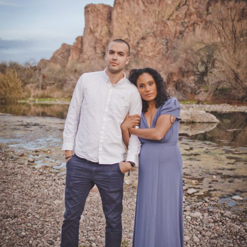 Salt River Engagement Couple Photography